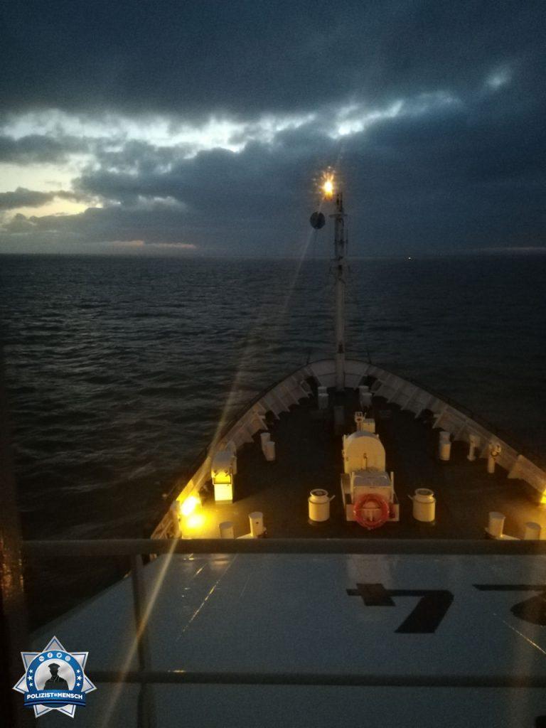 """""""Viele Grüße von der BP 24 auf Nordsee-Streife, Michael"""""""