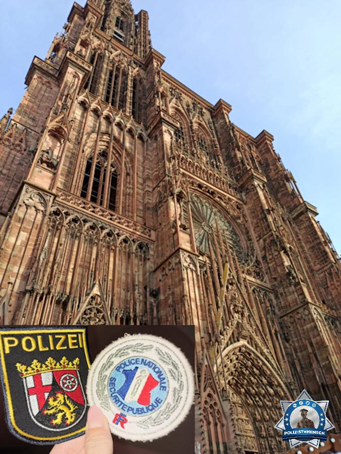 Spontanter Patchtausch in Straßburg
