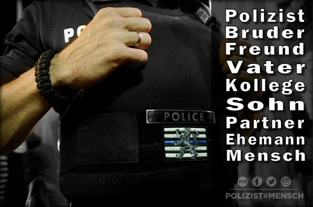 Polizisten und Polizistinnen sind eben auch Menschen