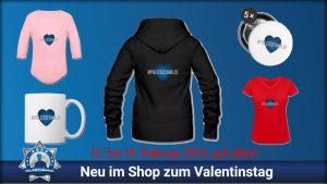 Valentinstagsangebot: Polizeifamilie  und 20% auf alles