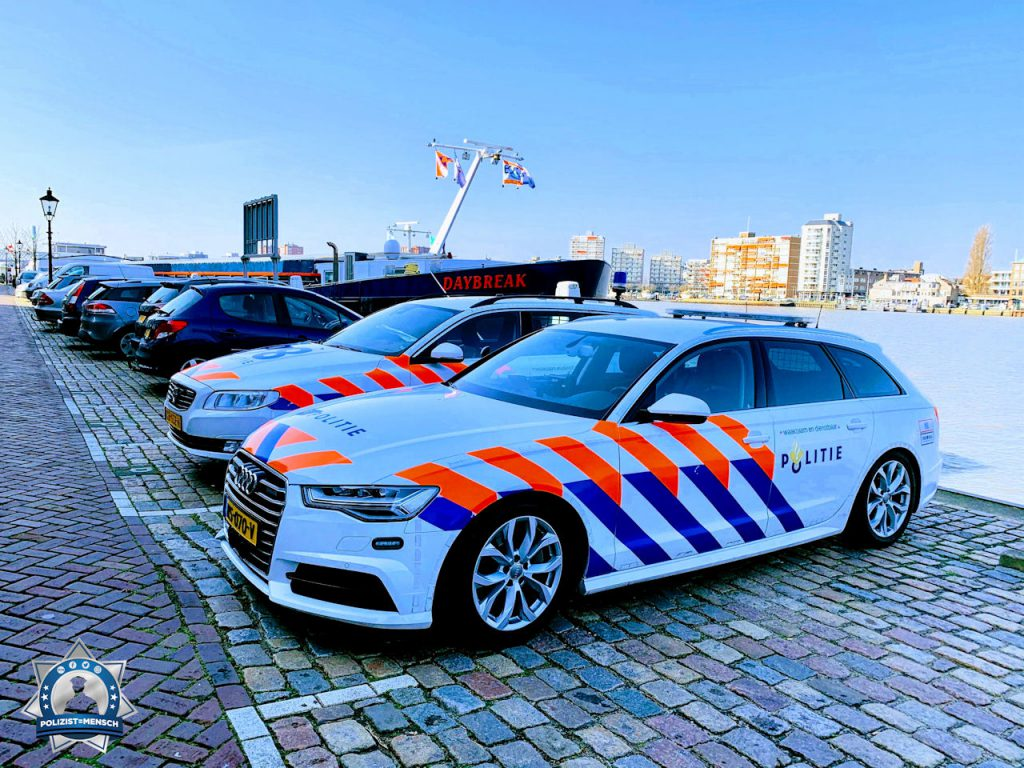 """""""Schöne Grüsse aus den Niederlanden von der Politie Landelijke Eenheid aus Dordrecht ☀️ Sichere Schicht wünschen wir euch!"""""""