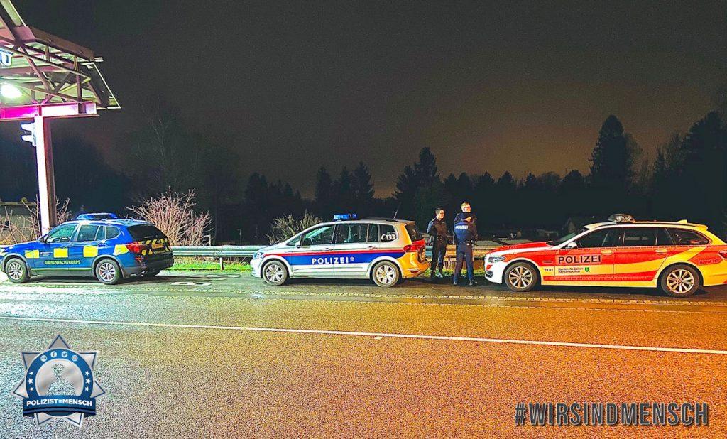 Das Verbrechen hält nicht an der Grenze, warum soll dort die Polizeiarbeit und die Freundschaft Halt machen?