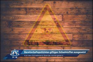 Aus dem Schießstand-Skandal nichts gelernt: Bereitschaftspolizisten giftigen Schadstoffen ausgesetzt