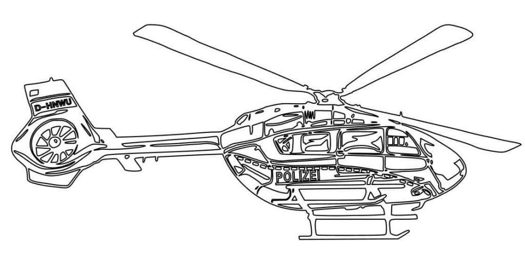 Für die kleinen und großen Künstler unter euch haben wir hier ein paar Hubschraubermotive zum selbst ausmalen