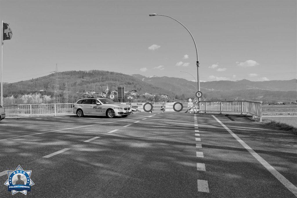 """""""Grenzschliessung an der Schweizer Grenze zu Österreich. Kommt alle Gesund durch diese Zeit und passt auf euch auf, Matthias"""""""