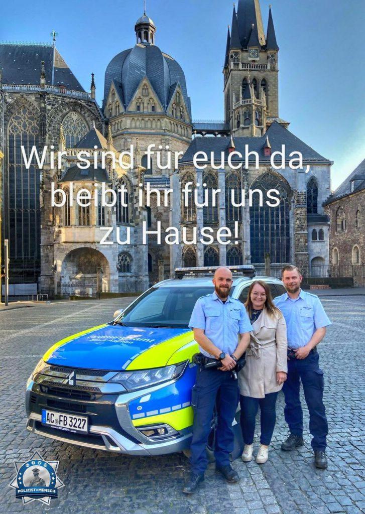 Auch das Ordnungsamt Aachen ist für euch im Dauereinsatz