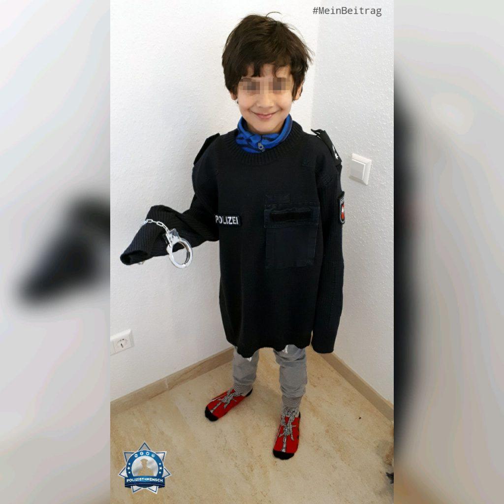 Alltagshelden der Coronakrise: Polizistenkinder