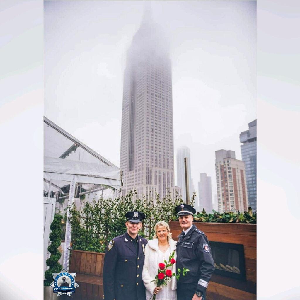 Hochzeit über den Dächern New Yorks
