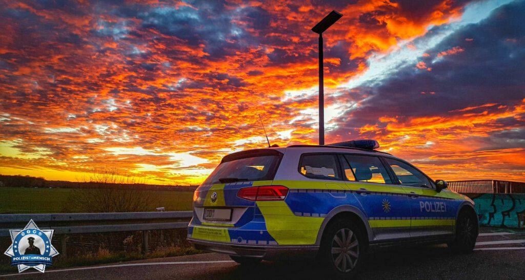 """""""Schöner Sonnenuntergang in Leipzig - Grüße aus Sachsen! Oliver"""""""