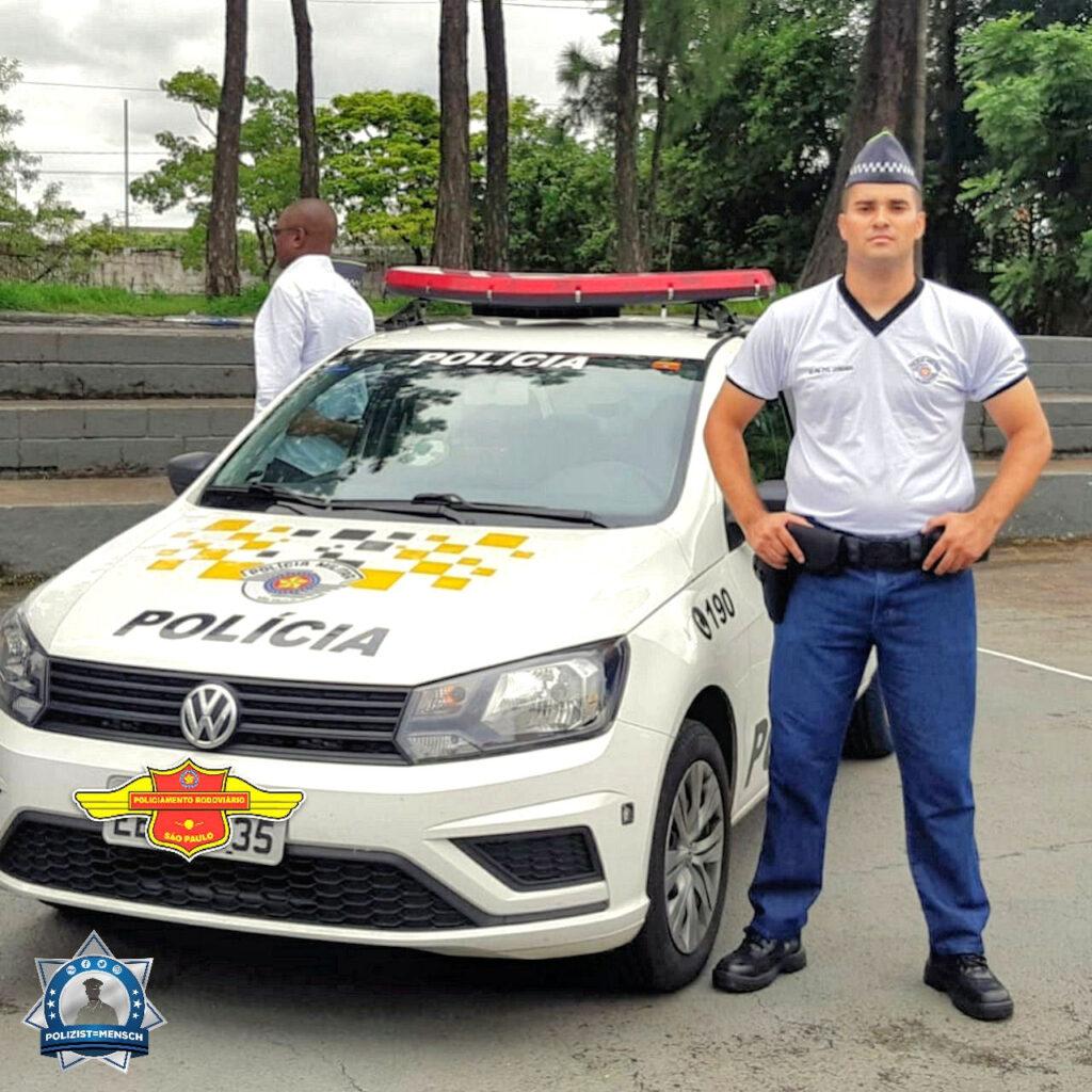"""""""Militärpolizei, der Verteidigung des Lebens, der körperlichen Unversehrtheit und der Würde des Menschen verpflichtet! Grüße aus Brasilien, Leonardo"""""""