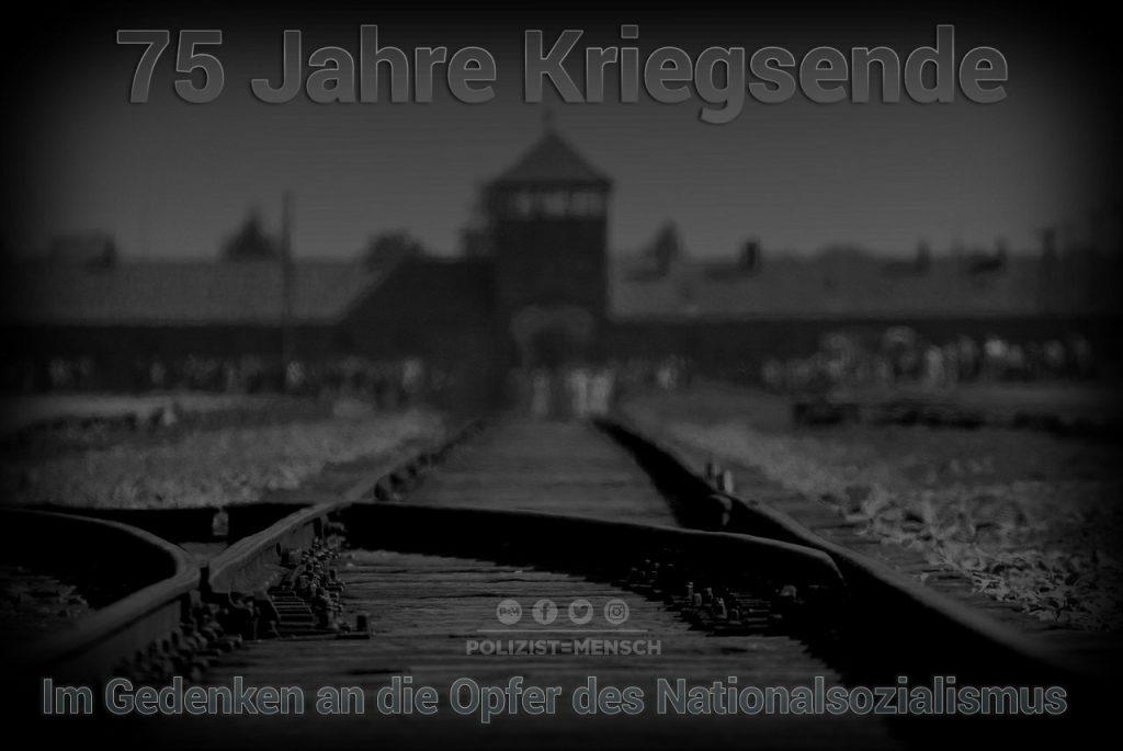 75 Jahre Kriegsende: Im Gedenken an die Opfer des Nationalsozialismus #NieWieder