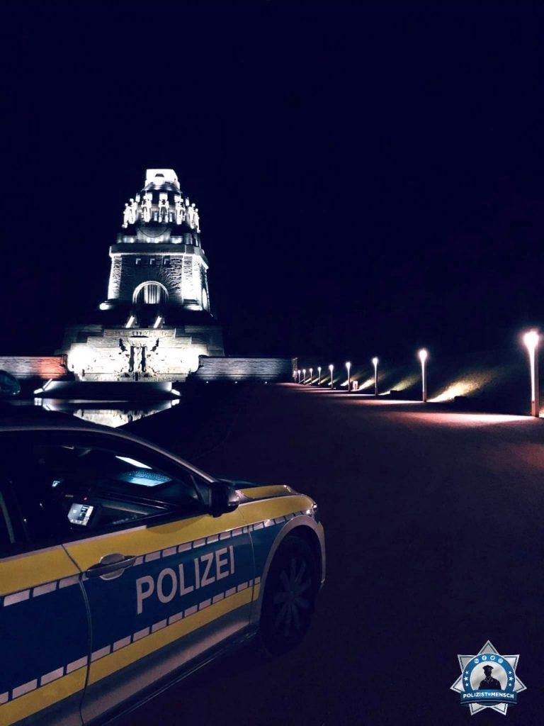 """""""Liebe Grüße von den Nachtschichtlern vom Revier Leipzig Zentrum ☺️"""""""