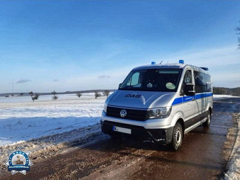 Rückblick: Das Foto von Jörg vom BAG zeigt uns, wie es noch Ende Februar auf der B269 bei Saarburg aussah.