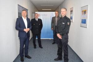 Sprung in den Mittellandkanal: Polizist wird für Lebensrettung belobigt