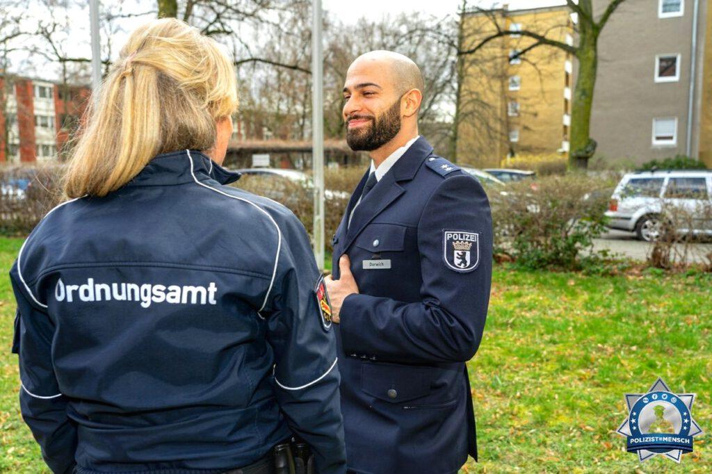 """""""Liebe Grüße aus Berlin & auch ein Danke an die Kolleginnen und Kollegen vom Ordnungsamt. Mit einer guten Zusammenarbeit aller Behörden kommen wir viel weiter. Ali"""""""