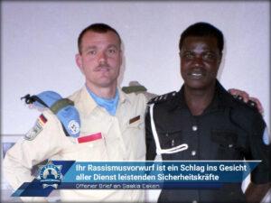 Offener Brief an Saskia Esken: Ihr Rassismusvorwurf ist ein Schlag ins Gesicht aller Dienst leistenden Sicherheitskräfte