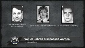 In memoriam: Vor 20 Jahren erschossen worden