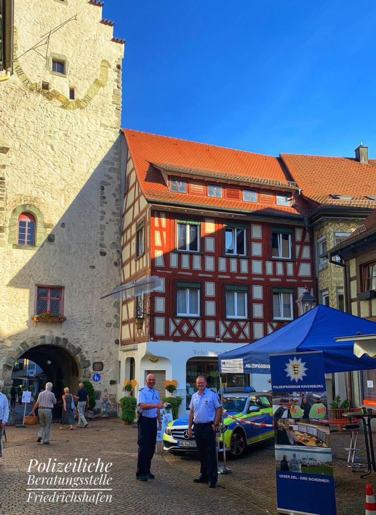 Nette Bürgergespräche bei der polizeilichen Beratungsstelle Friedrichshafen