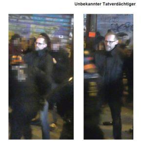 Nach Ausschreitungen Silvester 2019 in Leipzig Connewitz: Polizei sucht diesen Täter, der einen Polizisten angriff