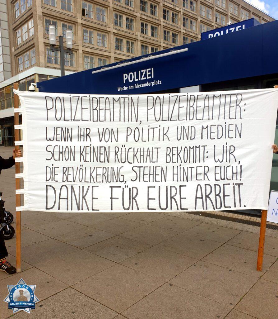 Solidarität mit der Polizei