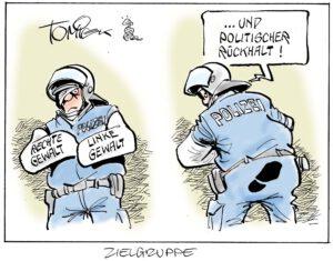 Gedanken eines Polizisten: Begebt Euch einfach nicht in eine Ecke, die andere schon für Euch zurechtgezimmert haben!