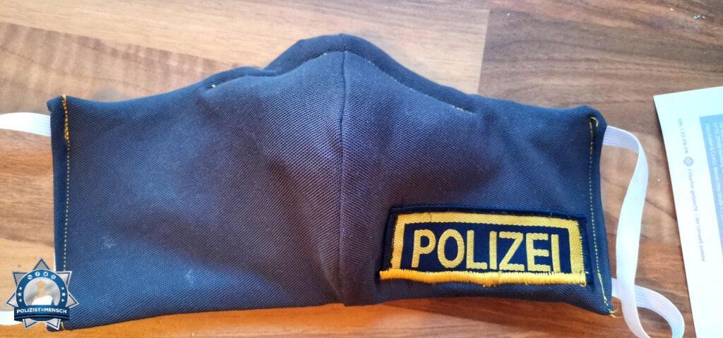 """""""Hallo Ihr Lieben, meine Frau war fleißig und hat hat eine Maske für den Dienst genäht 😊 Liebe Grüße aus Sachsen-Anhalt, Sebastian"""""""