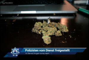 Im Dienst Drogen konsumiert: Polizisten vom Dienst freigestellt