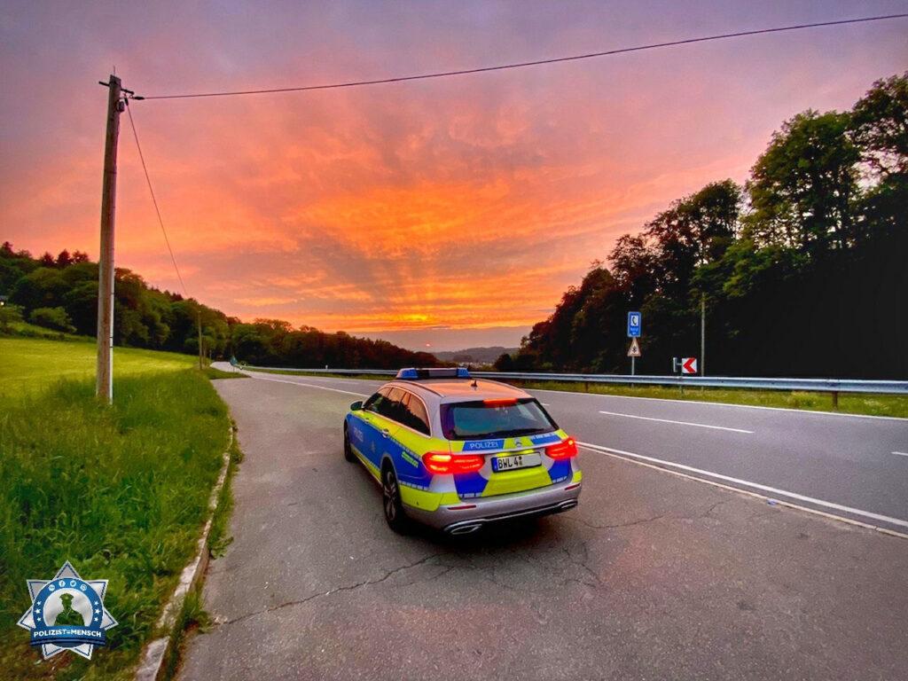 """""""Hallo liebes Polizist=Mensch Team, wollte auch mal einen Gruß aus dem Rhein-Neckar-Kreis da lassen!"""""""