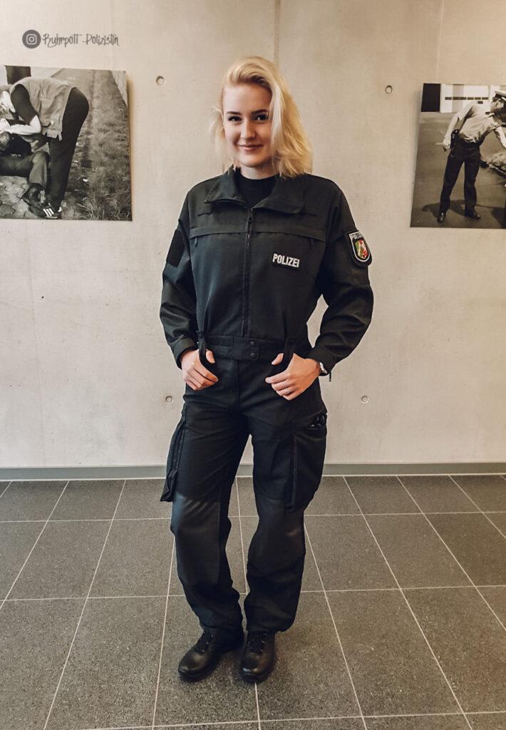 Anna zeigt euch das duale Studium der Polizei Nordrhein-Westfalen