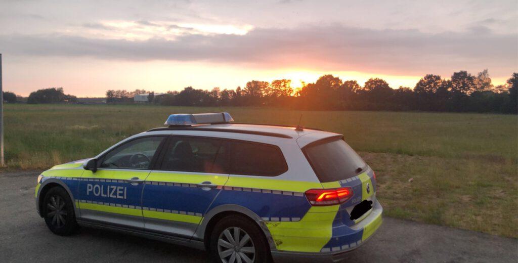 """""""Einen schöneren Start in den Nachtdienst gibt es wohl kaum. Liebe Grüße aus dem schönen Nienburg/Weser wünscht Fabian 🙂 """""""