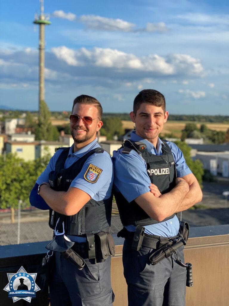 Bildgruß aus Hessen von zwei Kollegen und Freunden