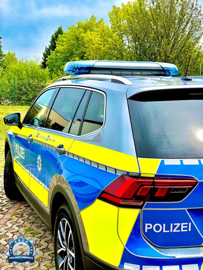 """""""Grüße vom Streifendienst des Inspektionsdienstes Süd der Landeshauptstadt Erfurt. Gruß Tom"""""""
