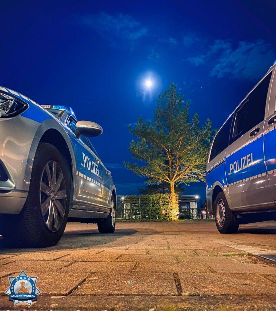 """""""Das Polizeihauptrevier Schwerin sendet Grüße aus der Nachtschicht."""""""