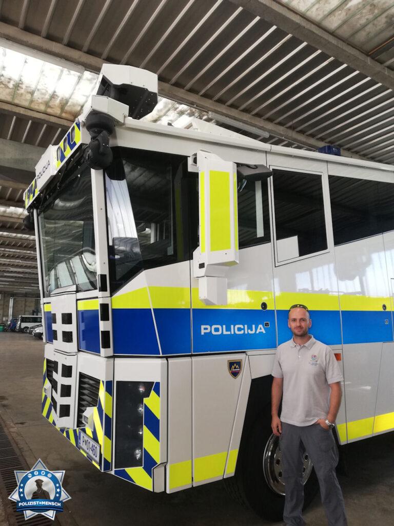 Besuch der slowenischen Polizeiakademie