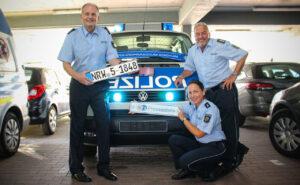 Bye, bye, Bulli! Die Polizei-Pressestelle verabschiedet einen langjährigen Weggefährten in den Ruhestand