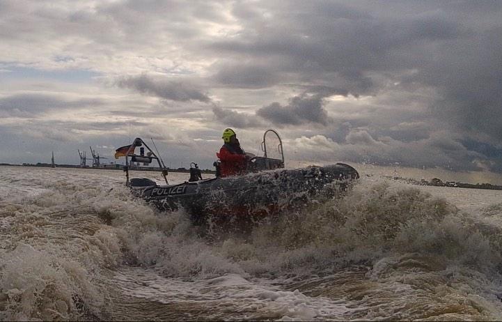 Impression vom Training der Maritimen Einsatz Gruppe
