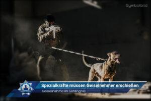 Geiselnahme im Gefängnis: Spezialkräfte müssen Geiselnehmer erschießen