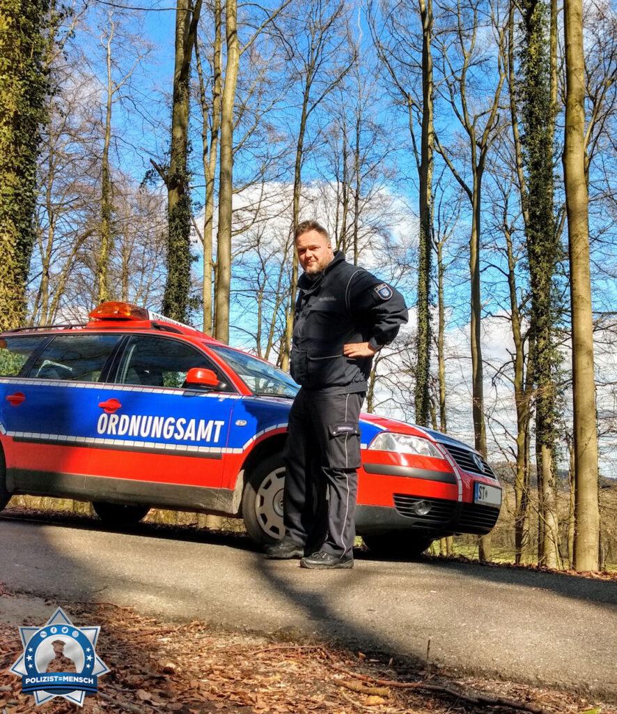 """""""Schöne Grüße aus dem herrlichen Lengerich in Westfalen vom KOD des Ordnungsamtes! Euch ein schönes Wochenende! Gerrit"""""""