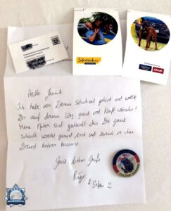 Zusammenhalt: Krebskranker Soldat erhielt Post von Polizeihundeführer