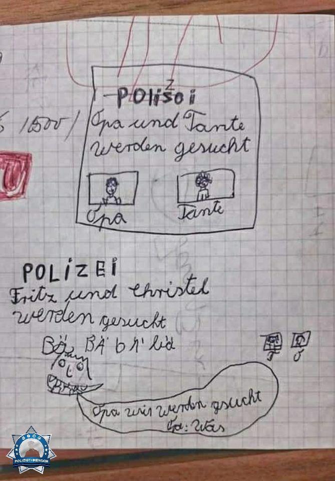 Ich hatte schon als 7jährige Interesse an der Polizei