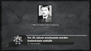 In memoriam: Vor 20 Jahren erschossen worden - Gedenkstein enthüllt
