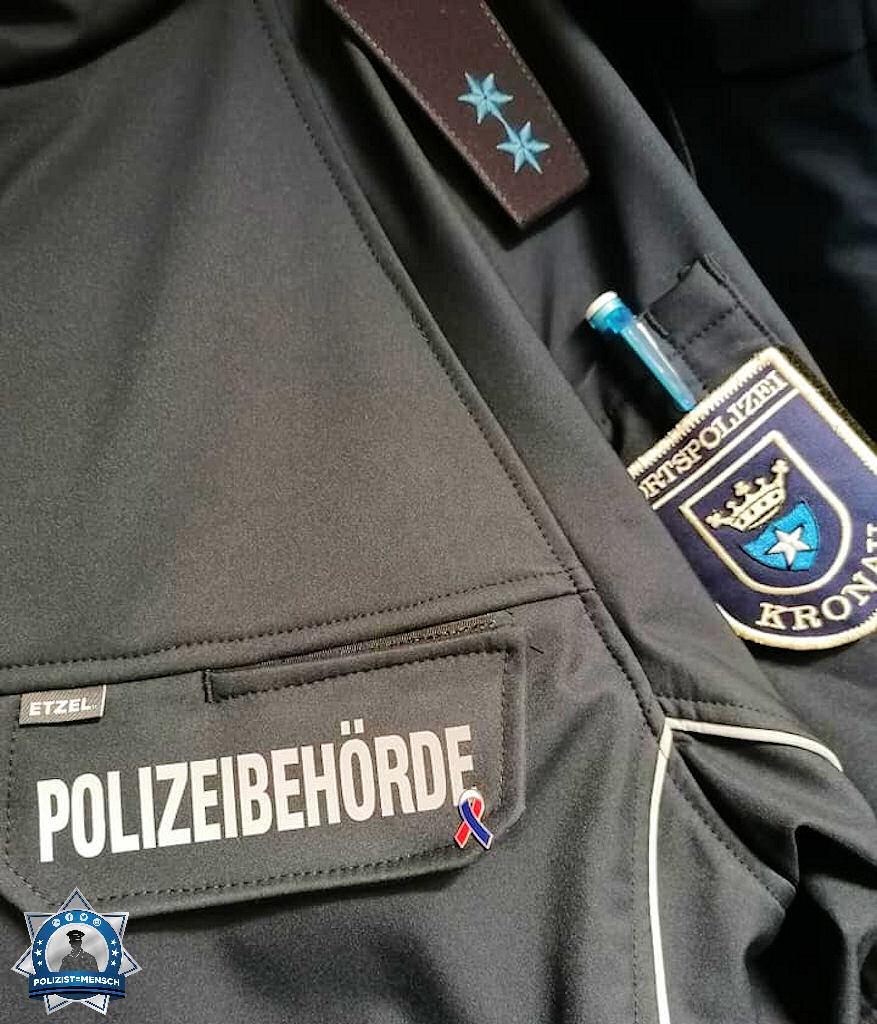 """""""Danke nach Hessen für die Schutzschleife. Ich habe sie sofort an die Uniformjacke gesteckt. Viele Grüße aus Kronau (Baden), Oliver."""""""