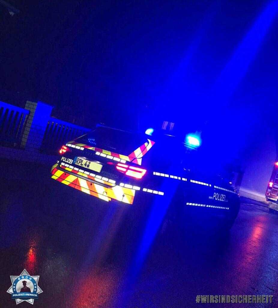 """""""Die Polizei Remagen im Einsatz in Bad Breisig (Rheinland-Pfalz), Yahia"""""""