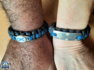 Thin Blue Line: Als mein Mann mein Armband sah, wollte er auch eins haben