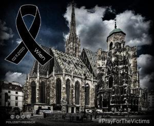 Islamistischer Anschlag in Wien: Zwei Tote, 24 Verletzte, darunter auch ein Polizist