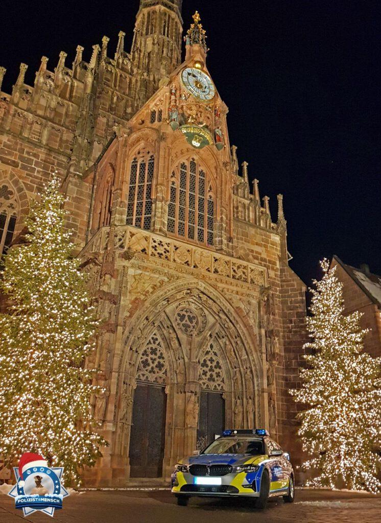 Weihnachtliche Grüße vom Nürnberger Hauptmarkt