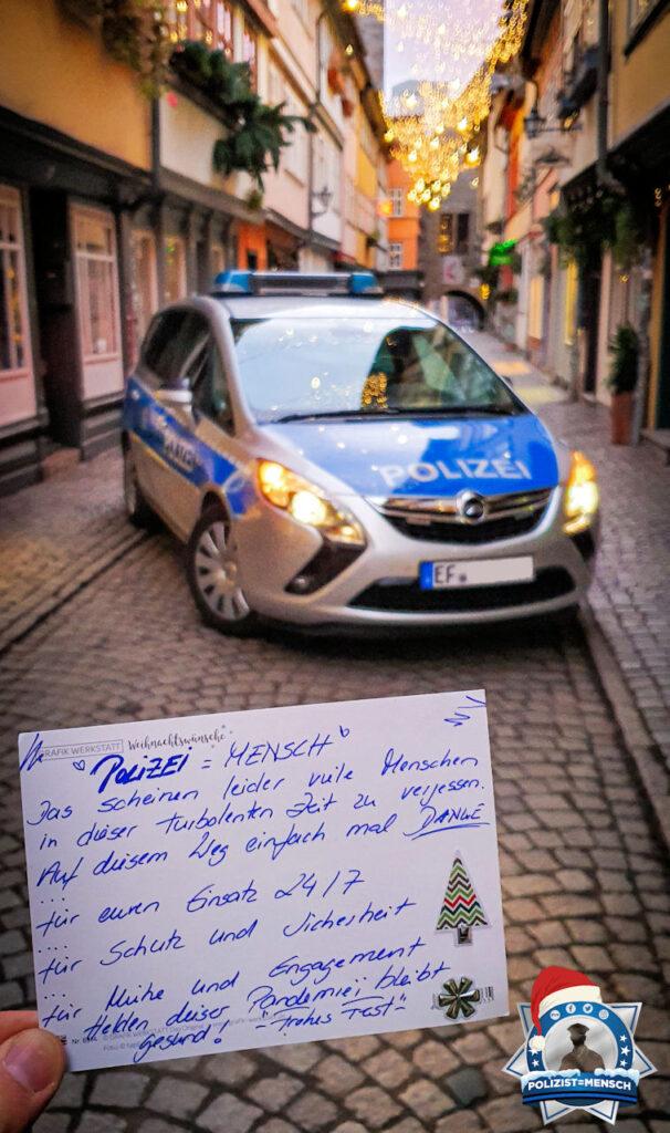 """""""Liebe Grüße von der D-Schicht des ID Nord im schönen Erfurt an die Kollegen und Bürger. Bleibt gesund, achtet auf eure Mitmenschen und kommt gut durch diese Zeit. Danke für diese Aufmerksamkeit!"""""""
