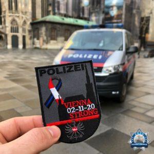 Patch zum Wiener Anschlag: Erlös geht an den angeschossenen Polizisten