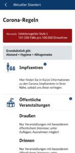 Warn-App Nina: Jetzt mit örtlichen Corona-Informationen