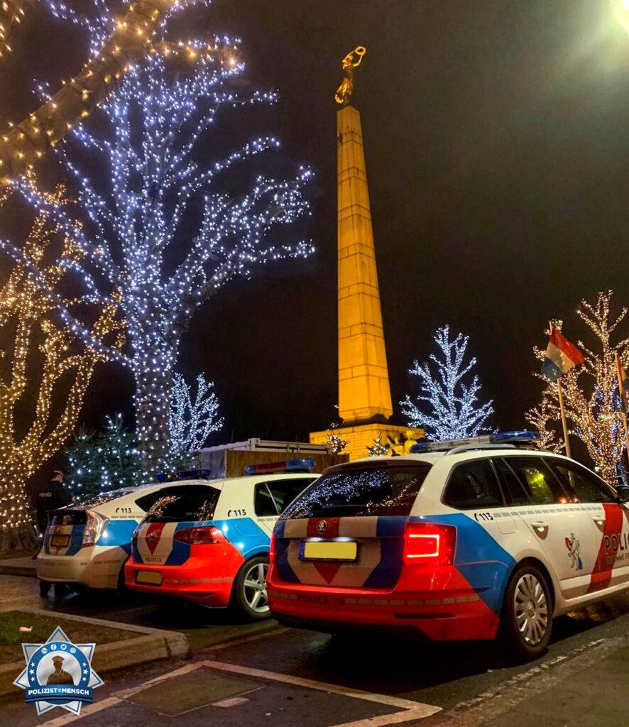 """""""Schöne Grüße von der Verkehrspolizei Luxemburg. Bleibt alle gesund und ein frohes neues Jahr! Patrick"""""""